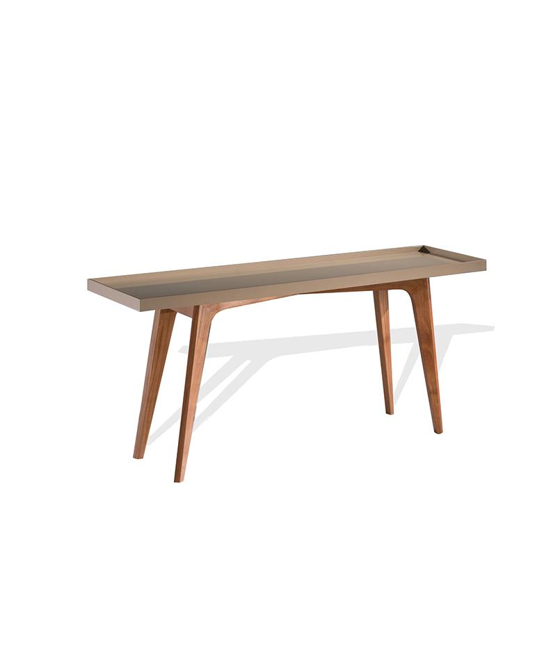 Aparador Tok Stok Preto ~ Aparador com pés em madeira Kaza Design