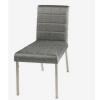 Cadeira com Detalhe de Costura Quadriculada